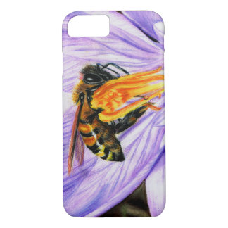 Bee and Crocus Art iPhone 7 Barely There Case