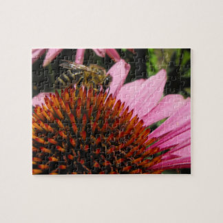Bee and Flower Jigsaw Puzzle