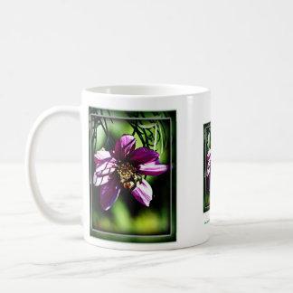 Bee and flower mug
