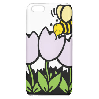 Bee and Flowers iPhone 5C Covers