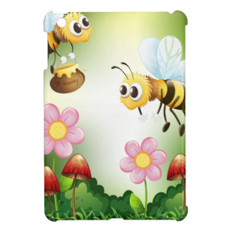 Bee and honey cover for the iPad mini