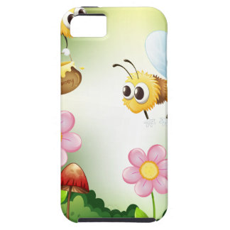 Bee and honey iPhone SE/5/5s case