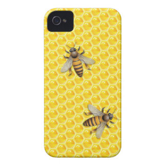 Bee and Honeycomb Case-Mate iPhone 4 Case