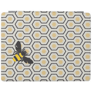 Bee and Honeycomb Pattern iPad Smart Cover