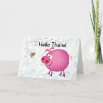 Bee and Pig Card