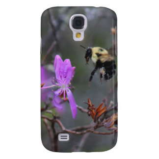 Bee and Wildflower Samsung Galaxy S4 Case