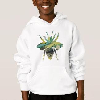 Bee art hoodie