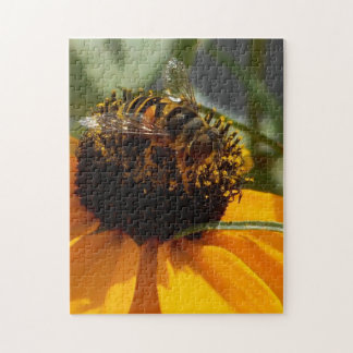 Bee at Work - 11 x 14 Photo Puzzle