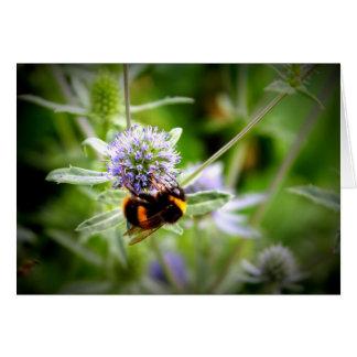 bee at work notecard