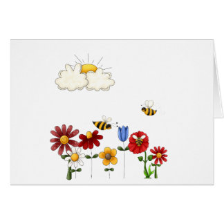 Bee-autiful Gardens Card
