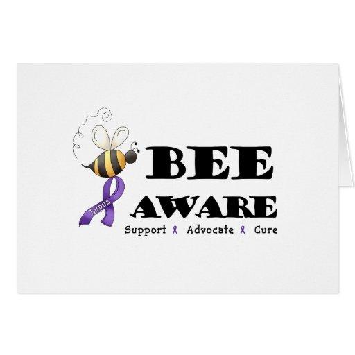 Bee Aware - Lupus Awareness Cards