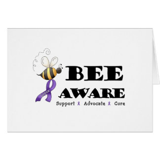 Bee Aware - Lupus Awareness Greeting Card