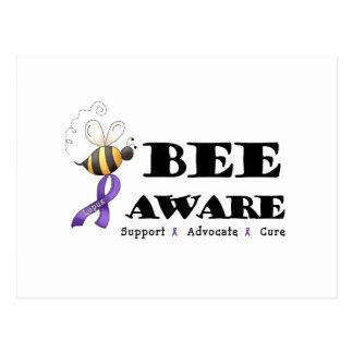 Bee Aware - Lupus Awareness Post Card