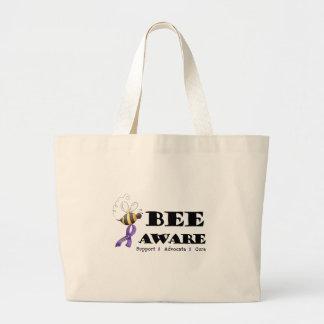Bee Aware - Lupus Awareness Tote Bags