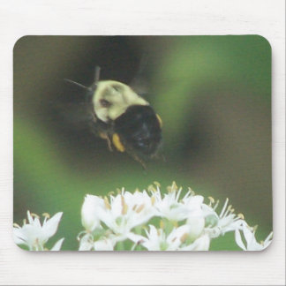 Bee Away Mouse Pad