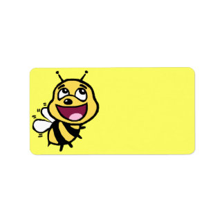 Bee Awesome Address Label
