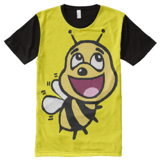 Bee Awesome All-Over Print T-shirt