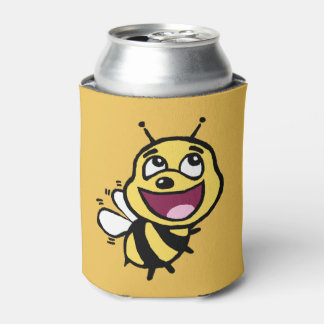 Bee Awesome Can Cooler