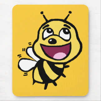 Bee Awesome Mouse Pad