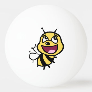 Bee Awesome Ping-Pong Ball