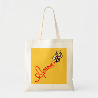 Bee Awesome Tote Bag