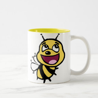 Bee Awesome Two-Tone Coffee Mug