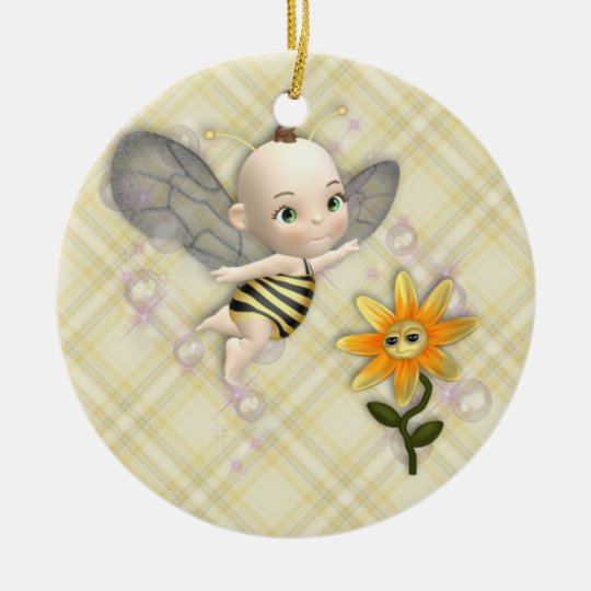 Bee Baby Ornament