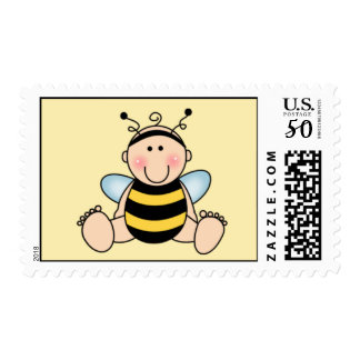 Bee baby Postage Stamp