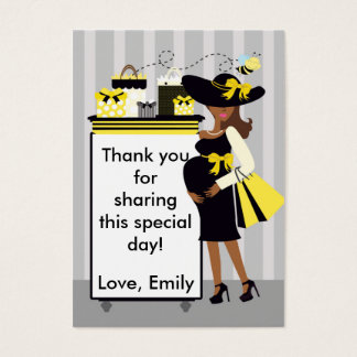 Bee Baby Shower Thank You Tag Label