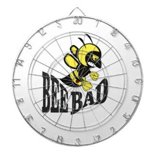 bee bad mean dartboard