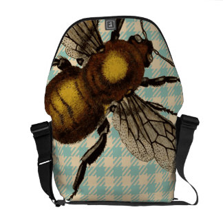 Bee Bag Messenger Bag