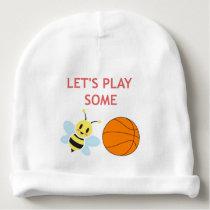 Bee Ball Baby Beanie