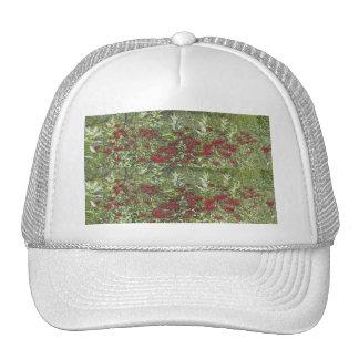 Bee Balm and Milkweed 1 Bookmark Trucker Hat