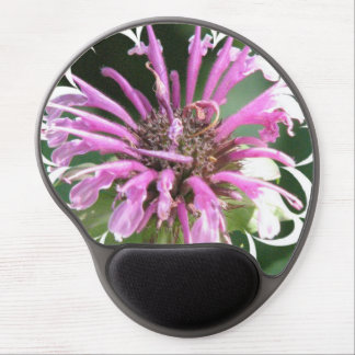 Bee Balm Flowers Gel Mouse Pad