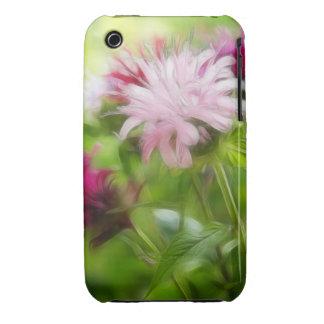 Bee Balm (Monarda) Flowers - Abstract iPhone 3 Cover