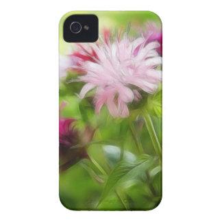 Bee Balm (Monarda) Flowers - Abstract iPhone 4 Case