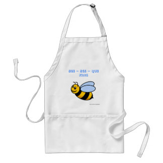 bee bee que king cooking barbecue father dad's adult apron