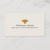 Bee BeeKeeper Honey Apairist Business Card