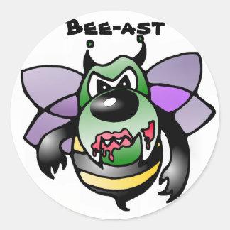 Bee bees bee bees sticker sticker beast