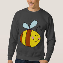 Bee Bees Bug Bugs Insect Cute Cartoon Animal Sweatshirt