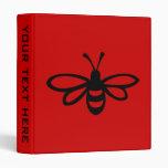 Bee [black] binders