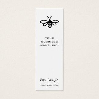 Bee [black] mini business card