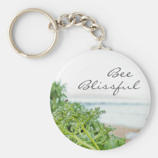 Bee Blissful Keychain