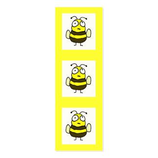 Bee Bookmark Mini Business Card
