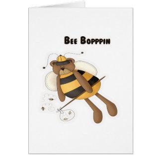 Bee Boppin Card
