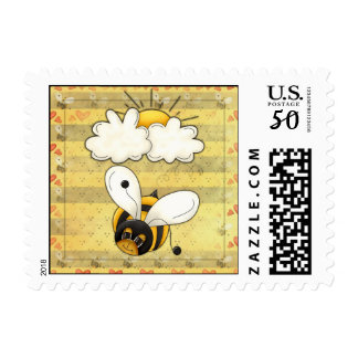 Bee Bopping US Postage Stamps