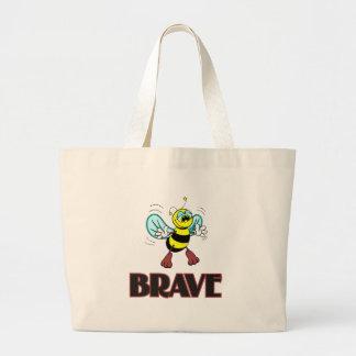 BEE BRAVE LARGE TOTE BAG
