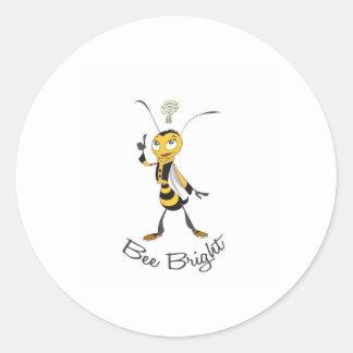 Bee Bright Sticker
