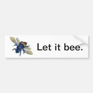 Bee Bumper Stickers