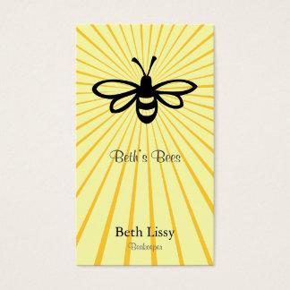 Bee Burst Business Card